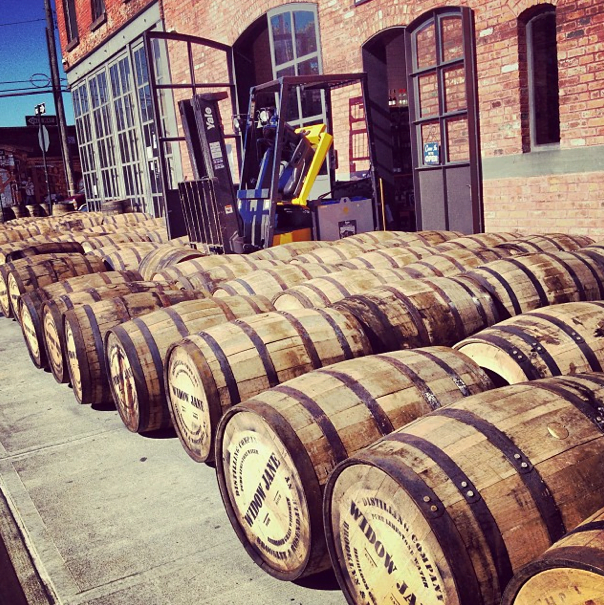 Nightlife Bars Widow Jane Distillery Mine Whiskey Barrels