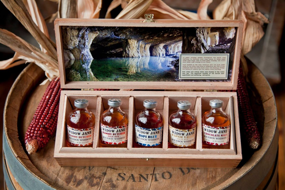Nightlife Bars Widow Jane Distillery Mine Whiskey Gift Case
