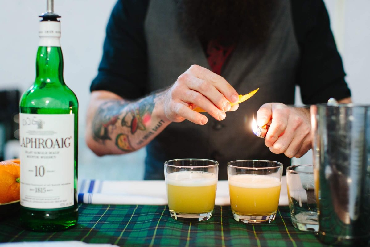 BTSNYC Experience Up Coming Dinner Lab by Caitie Mccabe Laphroaig