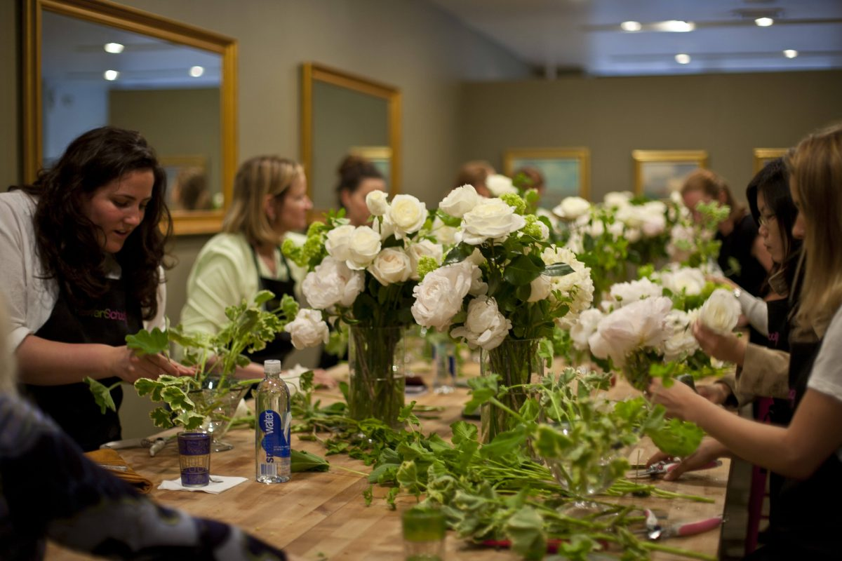Events On Going Flower School In Class
