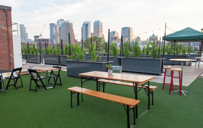 Events On Going Rooftop Reds Vineyard Brooklyn Space