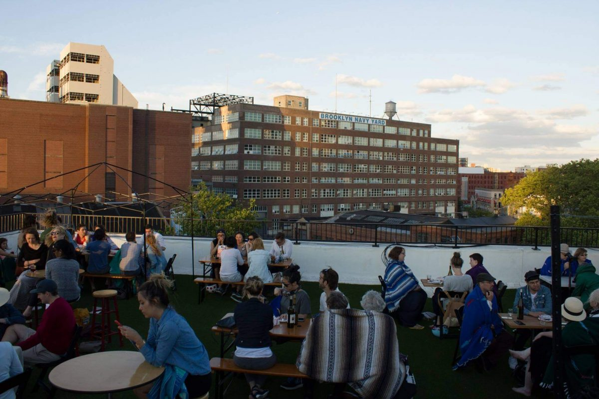Events On Going Rooftop Reds Vineyard Brooklyn Sunset
