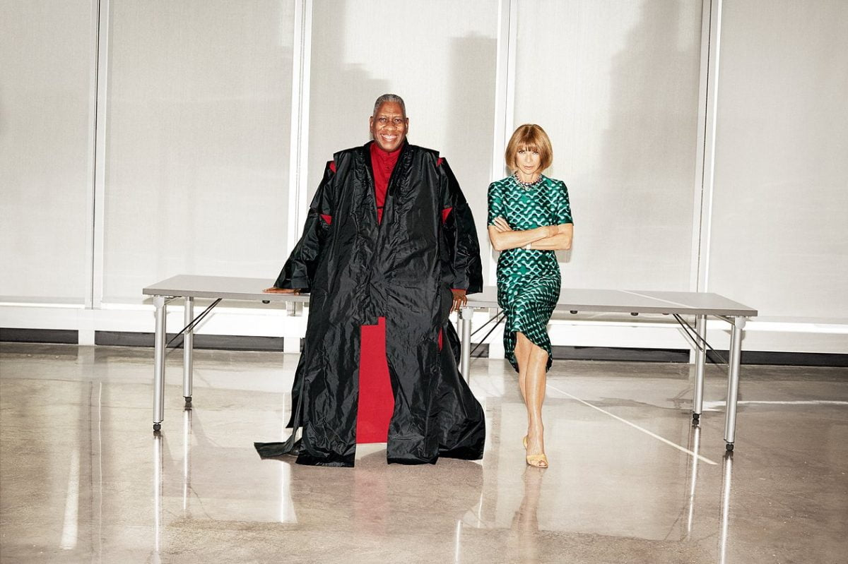 Events Up Coming André Leon Talley with Anna Wintour