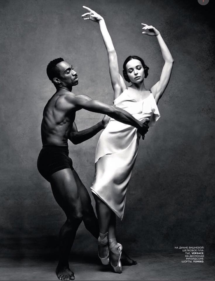 Events Up Coming Diana Vishneva Farewell Photo Patrick Demarchelier Curves