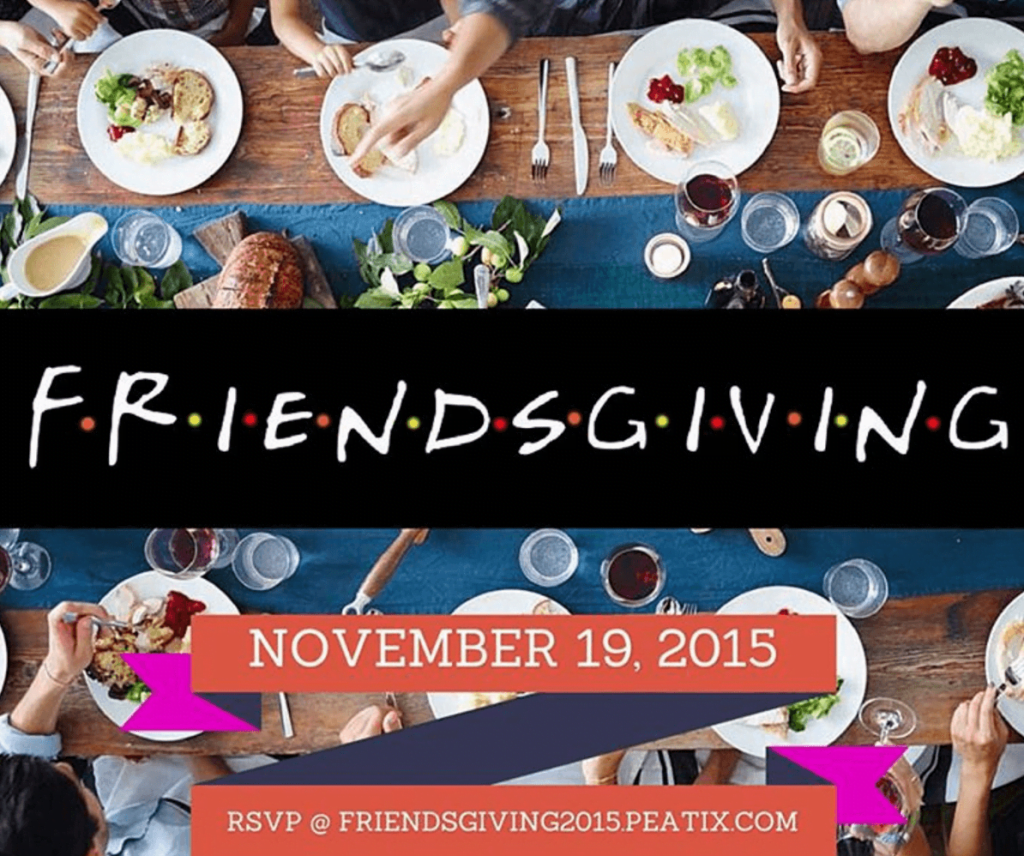 Events Up Coming Friendsgiving Komeeda