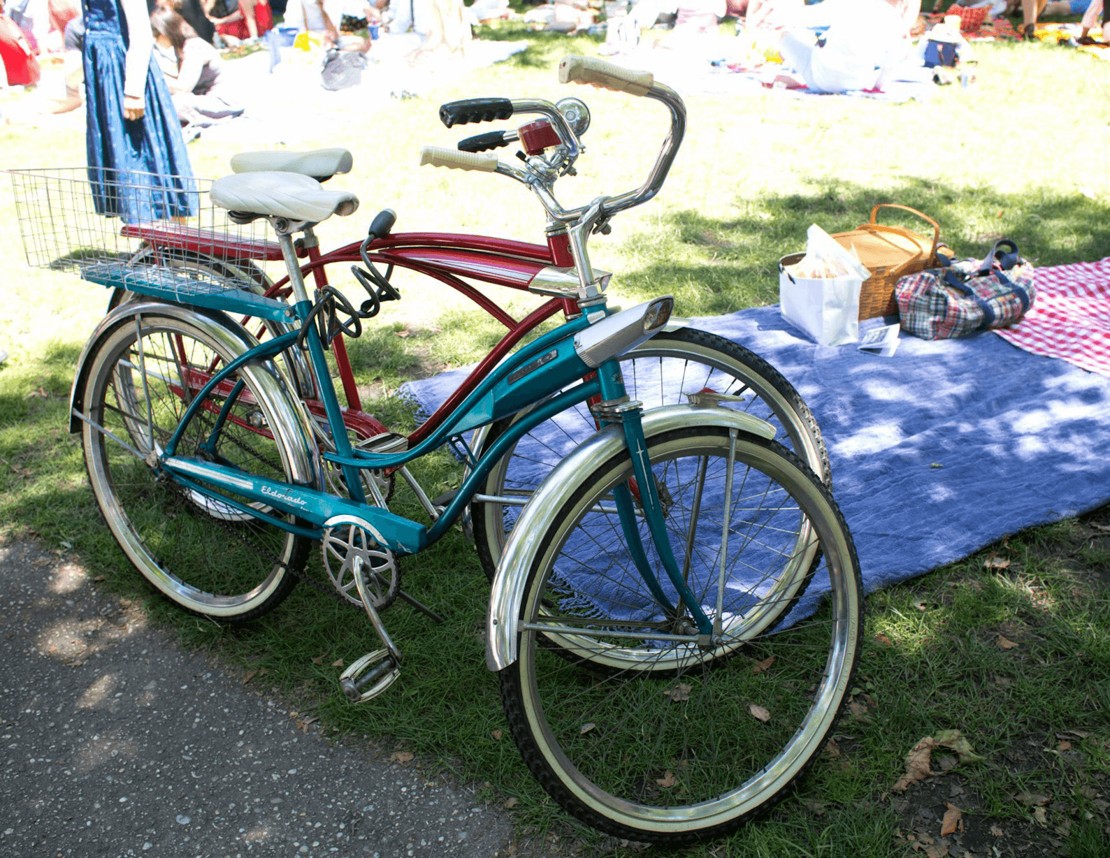 Events Up Coming Jazz Age Lawn Party by Walter Wlodarczyk Bikes Picnic