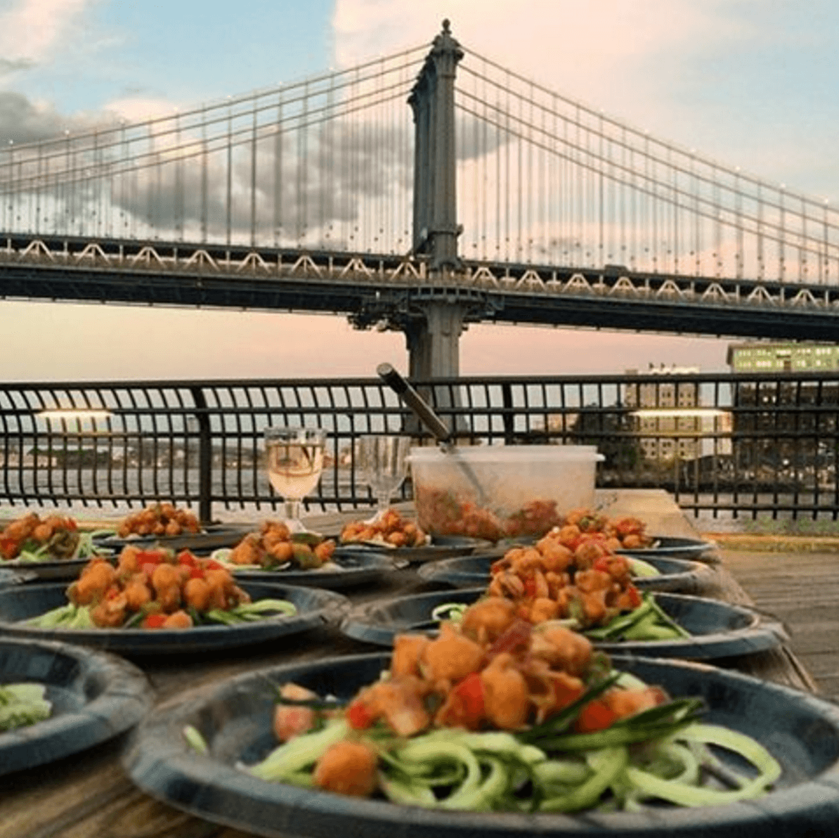 Events Up Coming Komeeda Dinner Under the Bridge Dishes