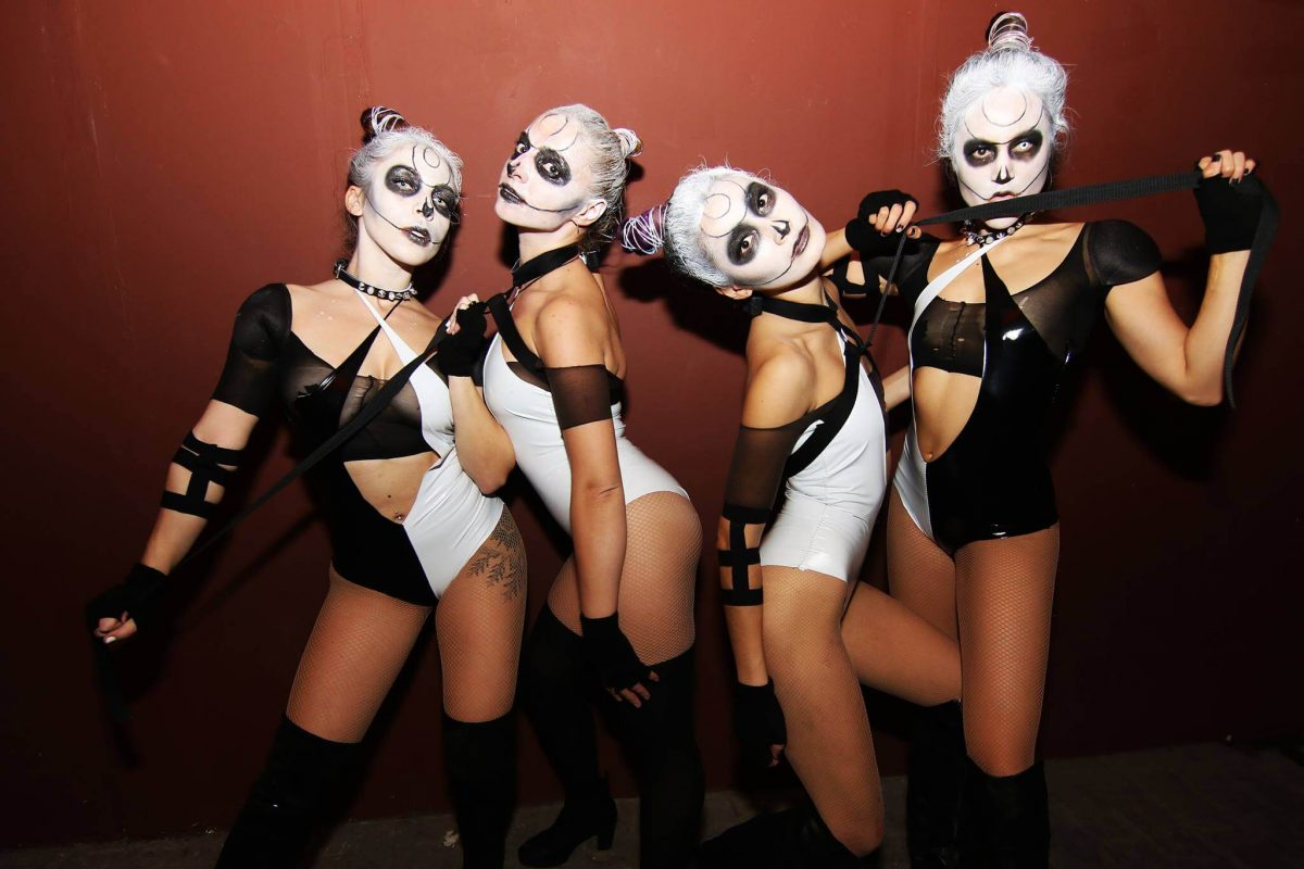 Events Up Coming NYC Halloween Bang On NYC Warehouse of Horrors Girls