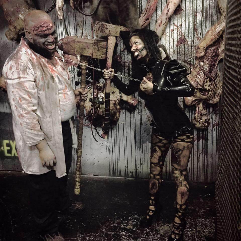 Events Up Coming NYC Halloween Blood Manor Chained Man