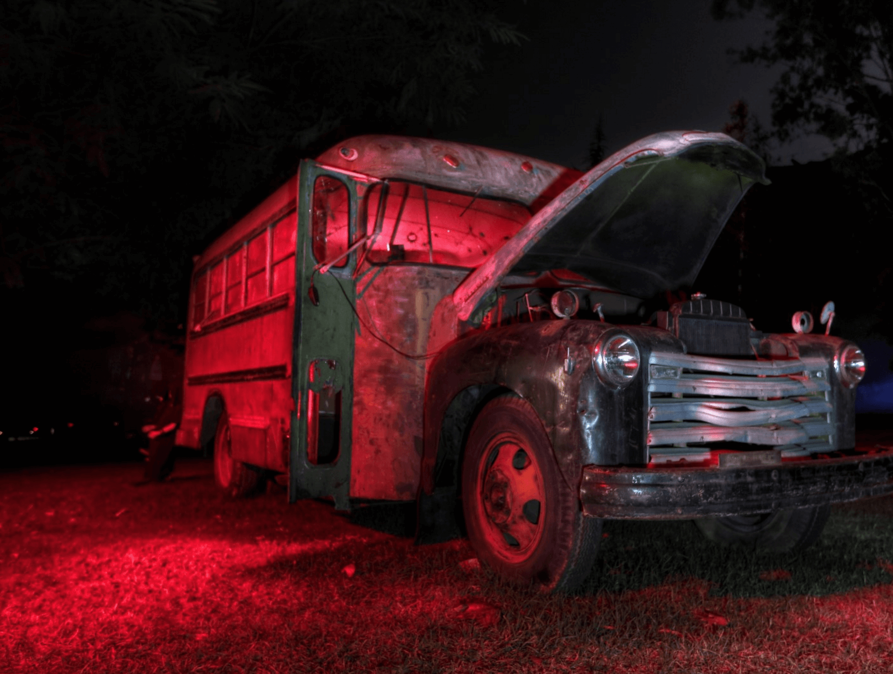 Events Up Coming NYC Halloween Haunted Hayride Randall's Island Truck