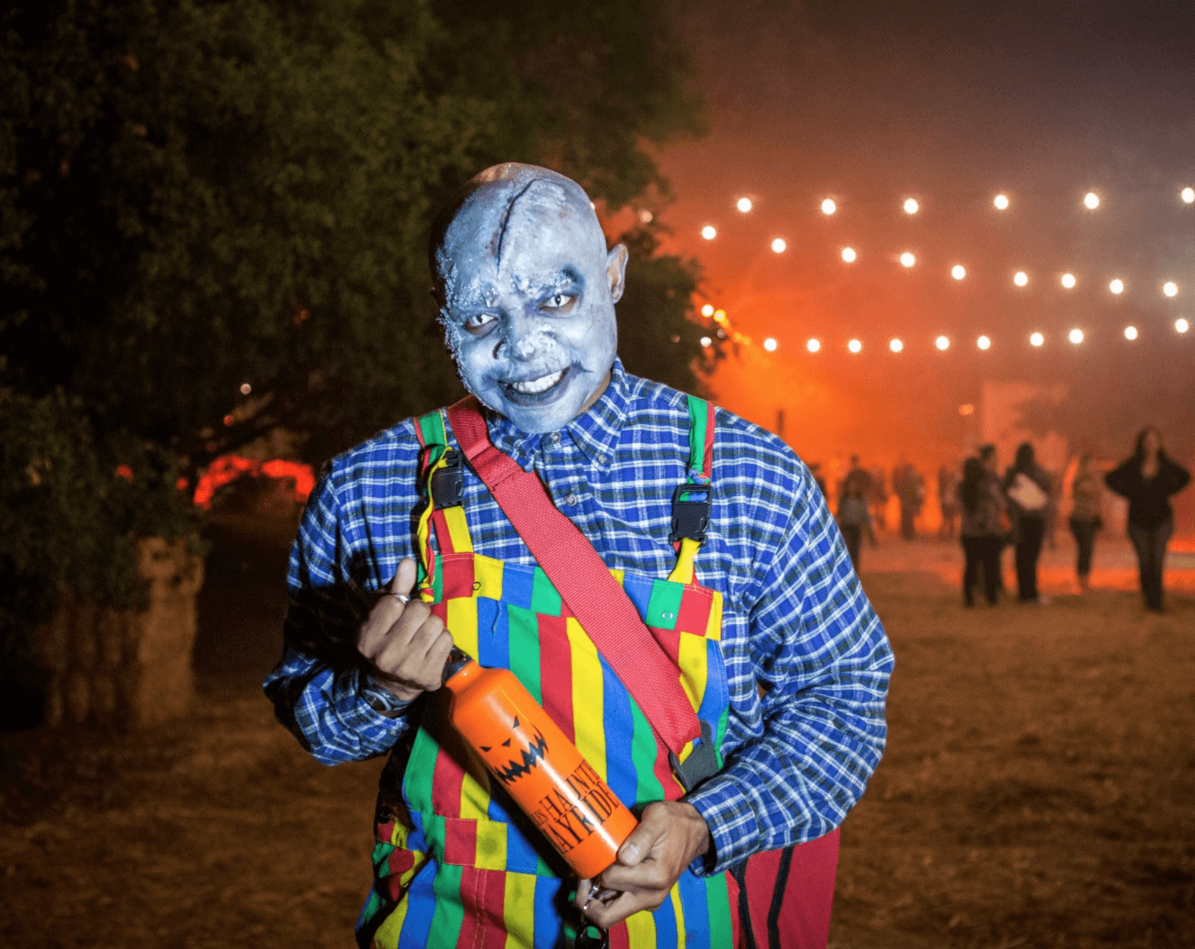 Events Up Coming NYC Halloween Haunted Hayride Randall's Island