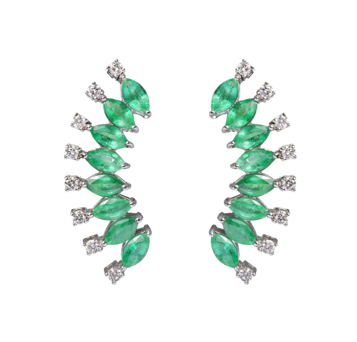 Our Experts Recaps Julls 2016 Jewelry Andrea Conti Emerald Fan Earring