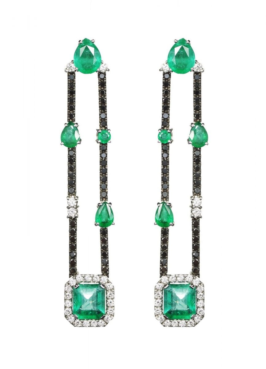 Our Experts Recaps Julls 2016 Jewelry Andrea Conti Emerald Long Earring