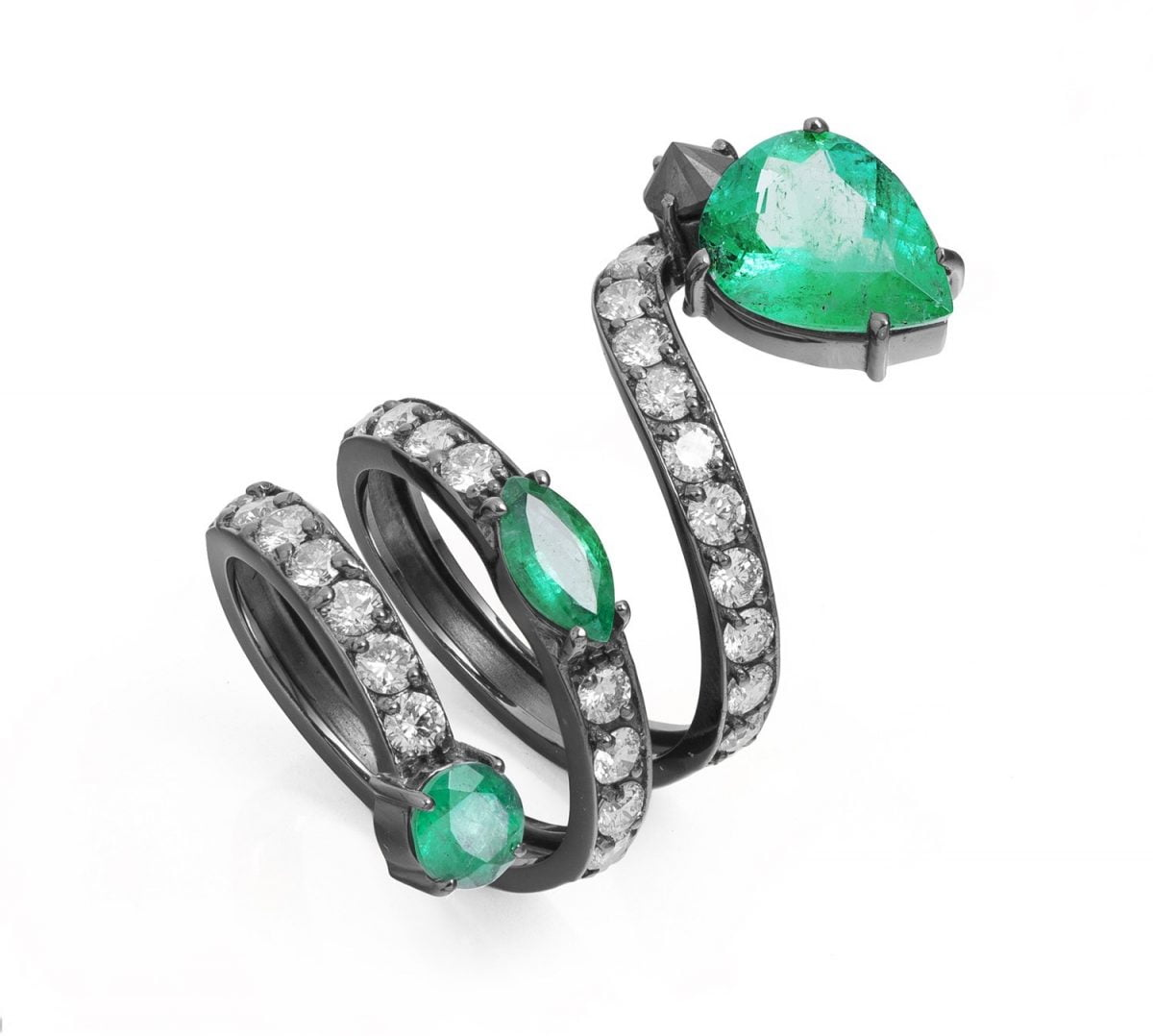 Our Experts Recaps Julls 2016 Jewelry Andrea Conti Emerald Snake Ring