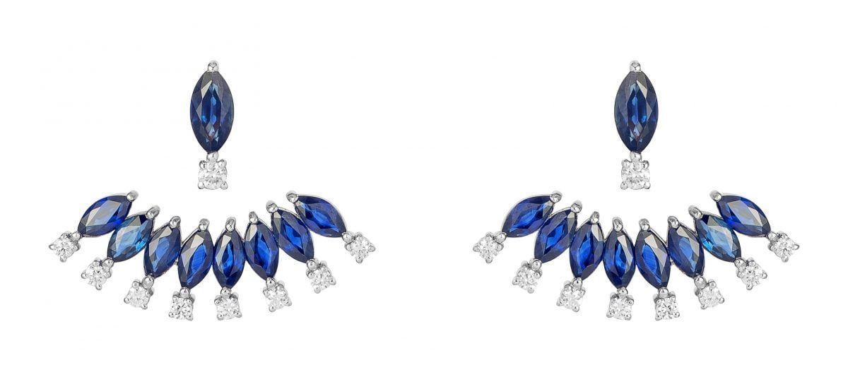 Our Experts Recaps Julls 2016 Jewelry Andrea Conti Safire Fan Earring