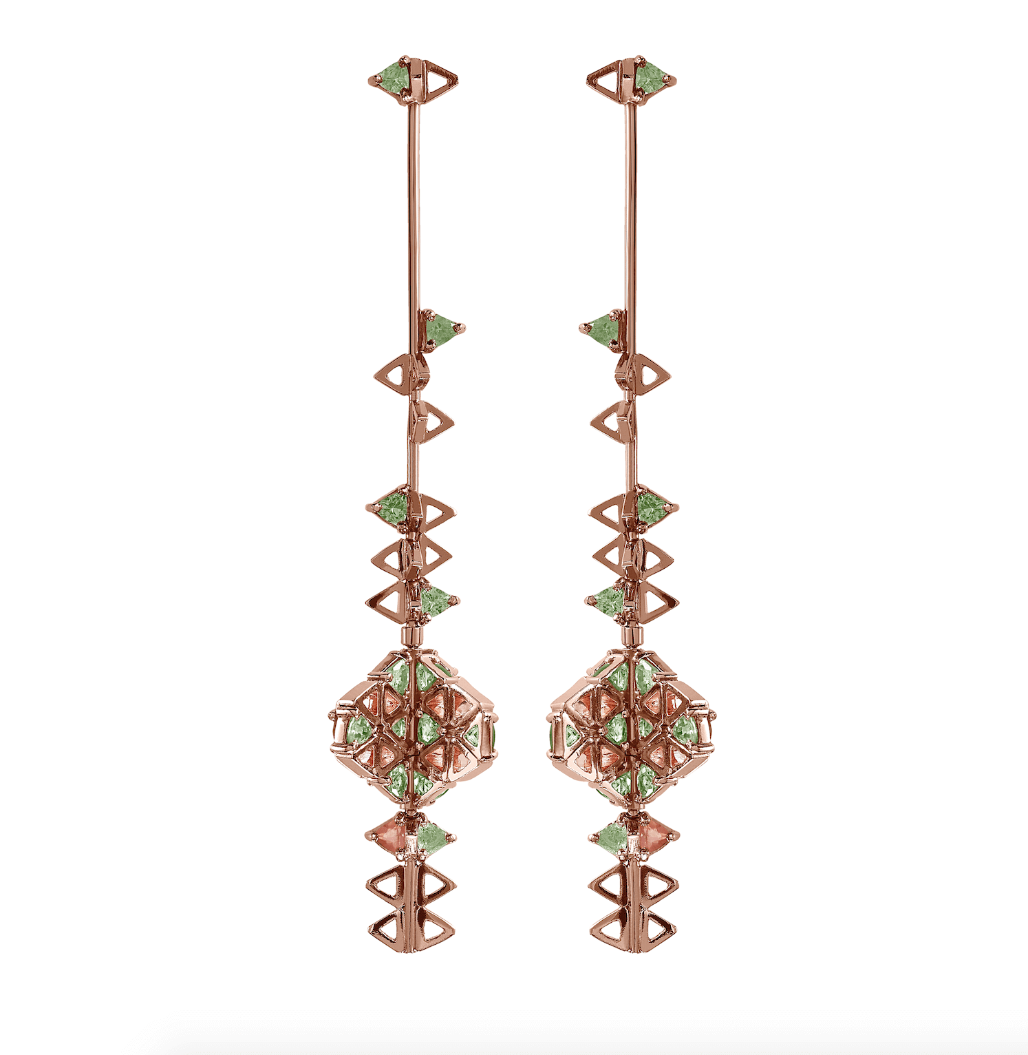 Our Experts Recaps Julls 2016 Jewelry Carol Bassi Long Earring Kaleidoscope