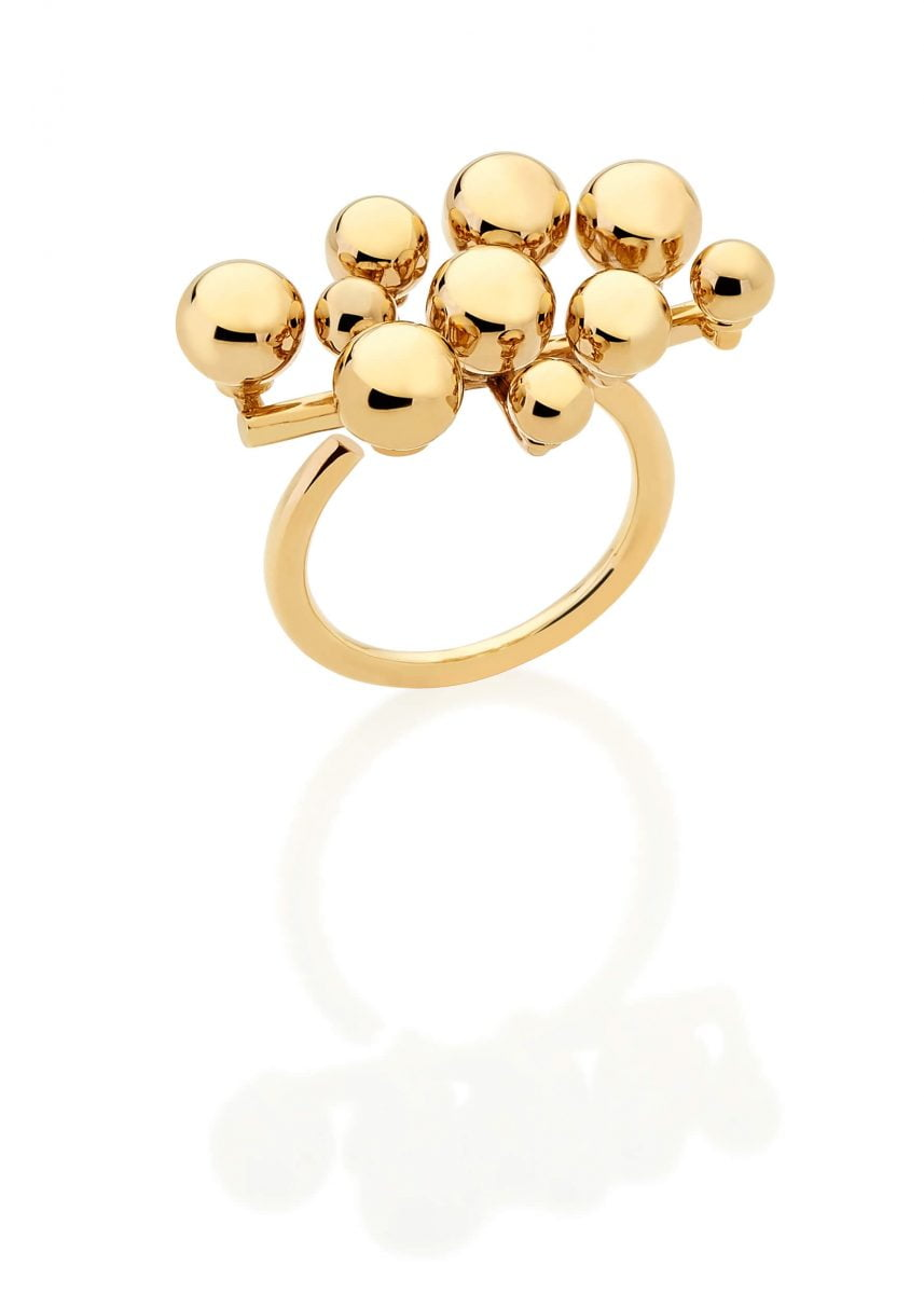 Our Experts Recaps Julls 2016 Jewelry Carol Bassi Spheres Gold Ring