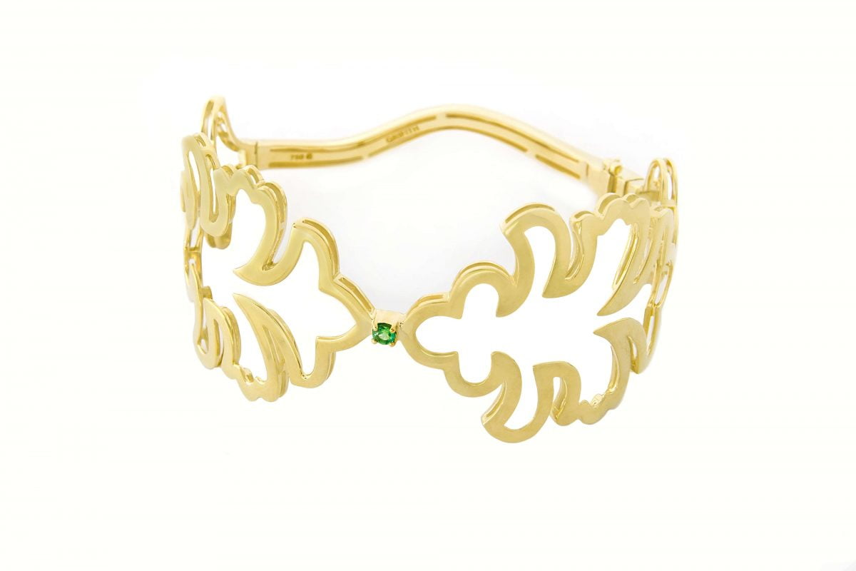 Our Experts Recaps Julls 2016 Jewelry Grifith Emerald Gold Bracelet