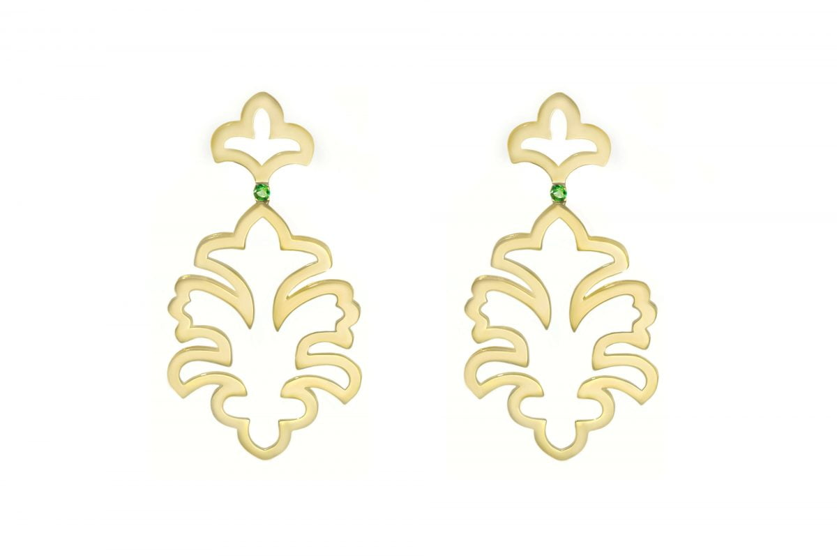 Our Experts Recaps Julls 2016 Jewelry Grifith Emerald Gold Earring