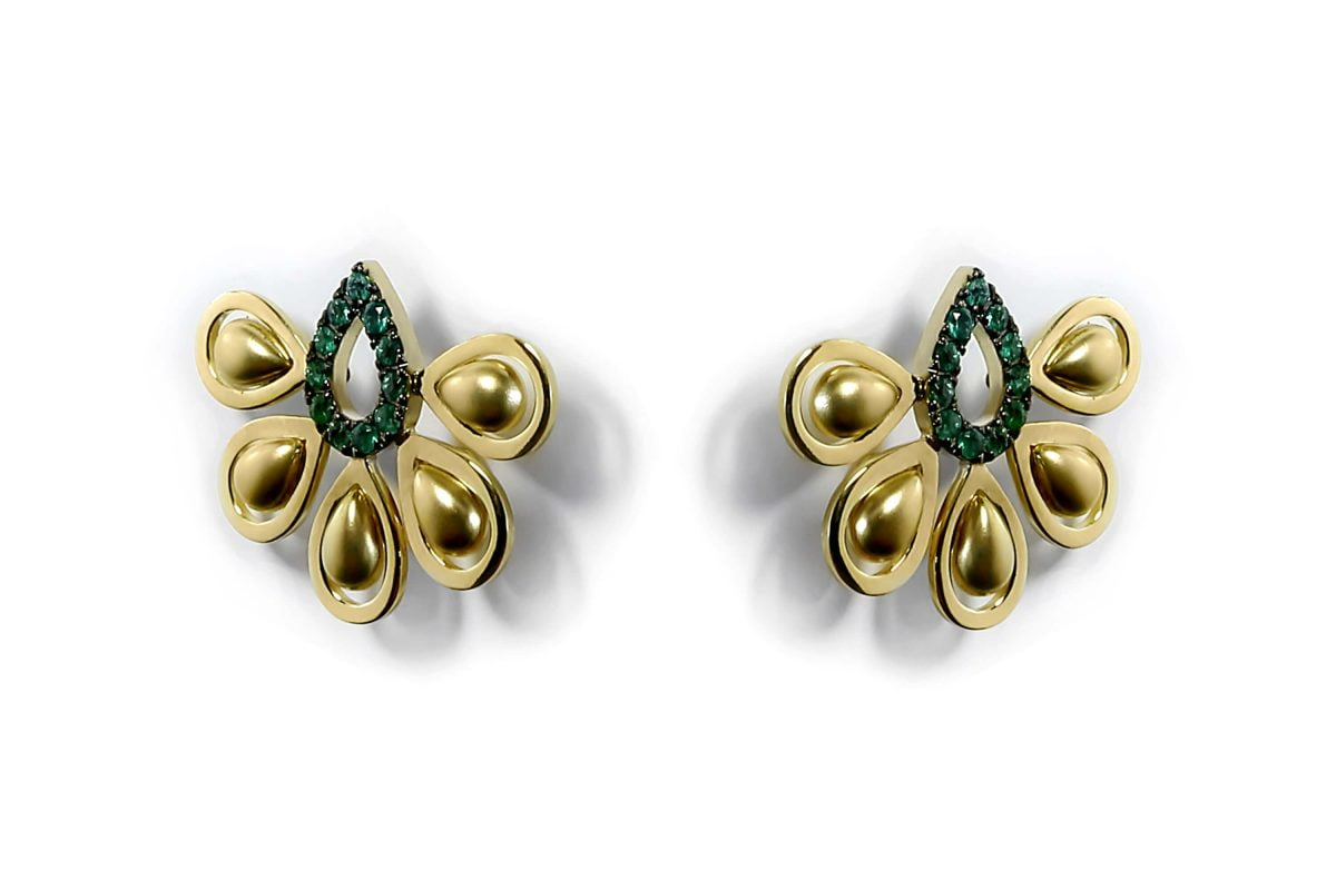 Our Experts Recaps Julls 2016 Jewelry Grifith Turquia Gold Emerald Earring