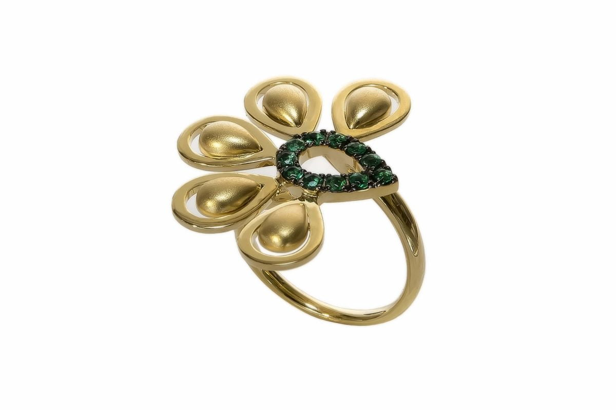 Our Experts Recaps Julls 2016 Jewelry Grifith Turquia Gold Emerald Ring