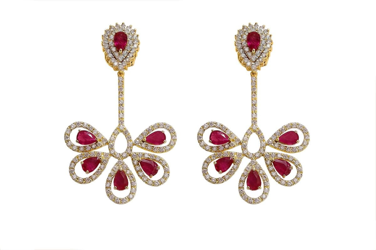 Our Experts Recaps Julls 2016 Jewelry Grifith Turquia Ruby Diamond Earring
