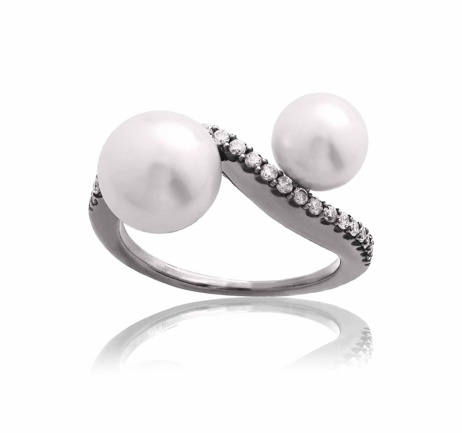 Our Experts Recaps Julls 2016 Jewelry Julia Blini Wave Pearl Ring