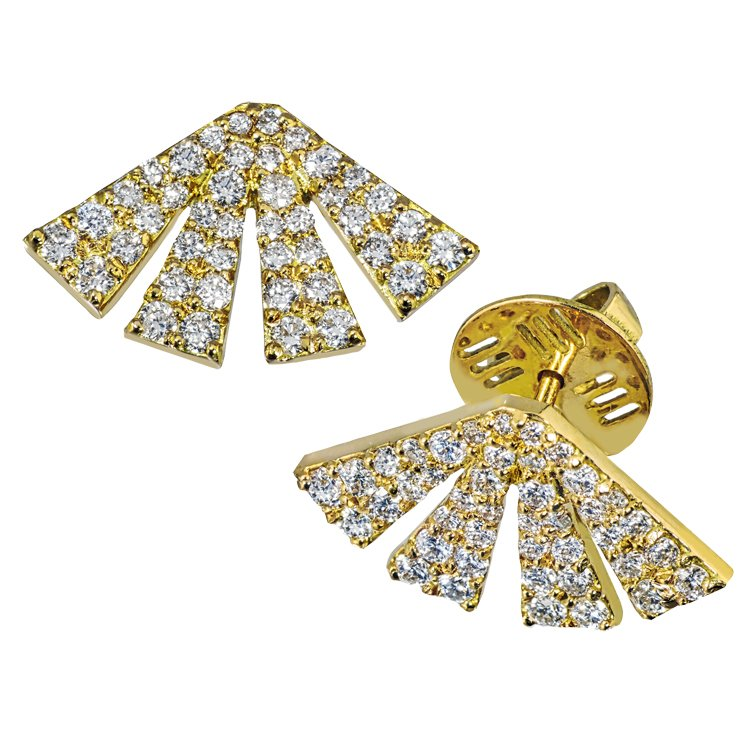 Our Experts Recaps Julls 2016 Jewelry Mary Esses Large Fan Earring