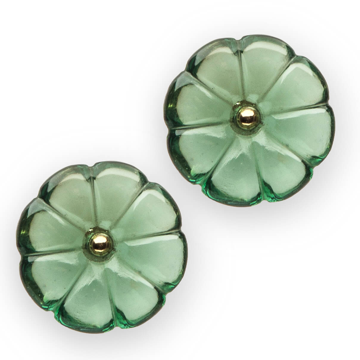Our Experts Recaps Julls 2016 Jewelry Patricia Gotthilf Green Stone Earring