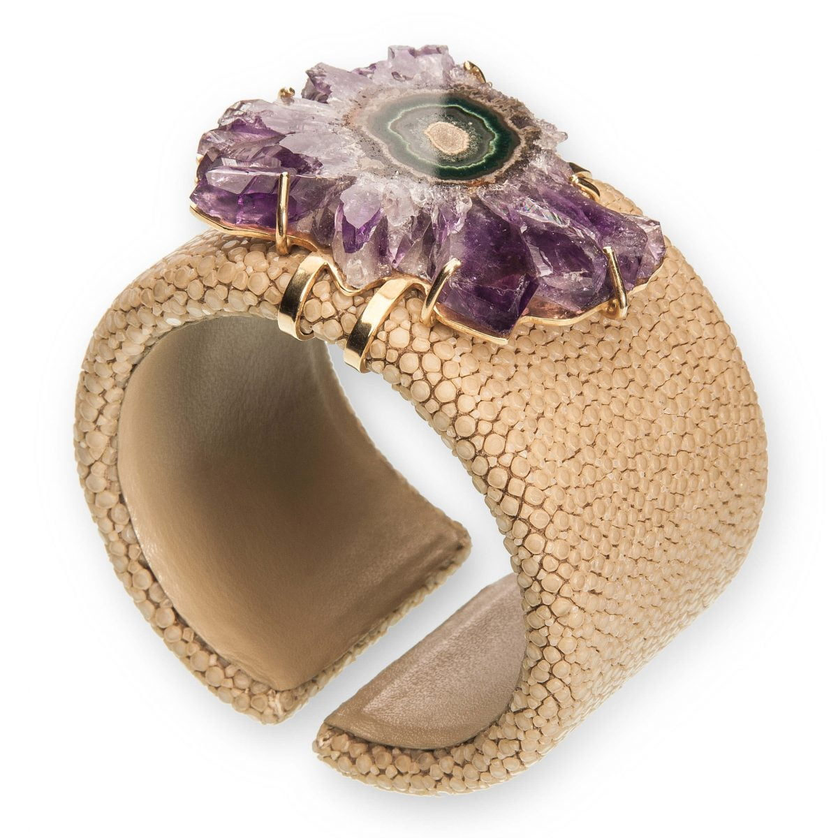Our Experts Recaps Julls 2016 Jewelry Patricia Gotthilf Purple Stone Bracelet