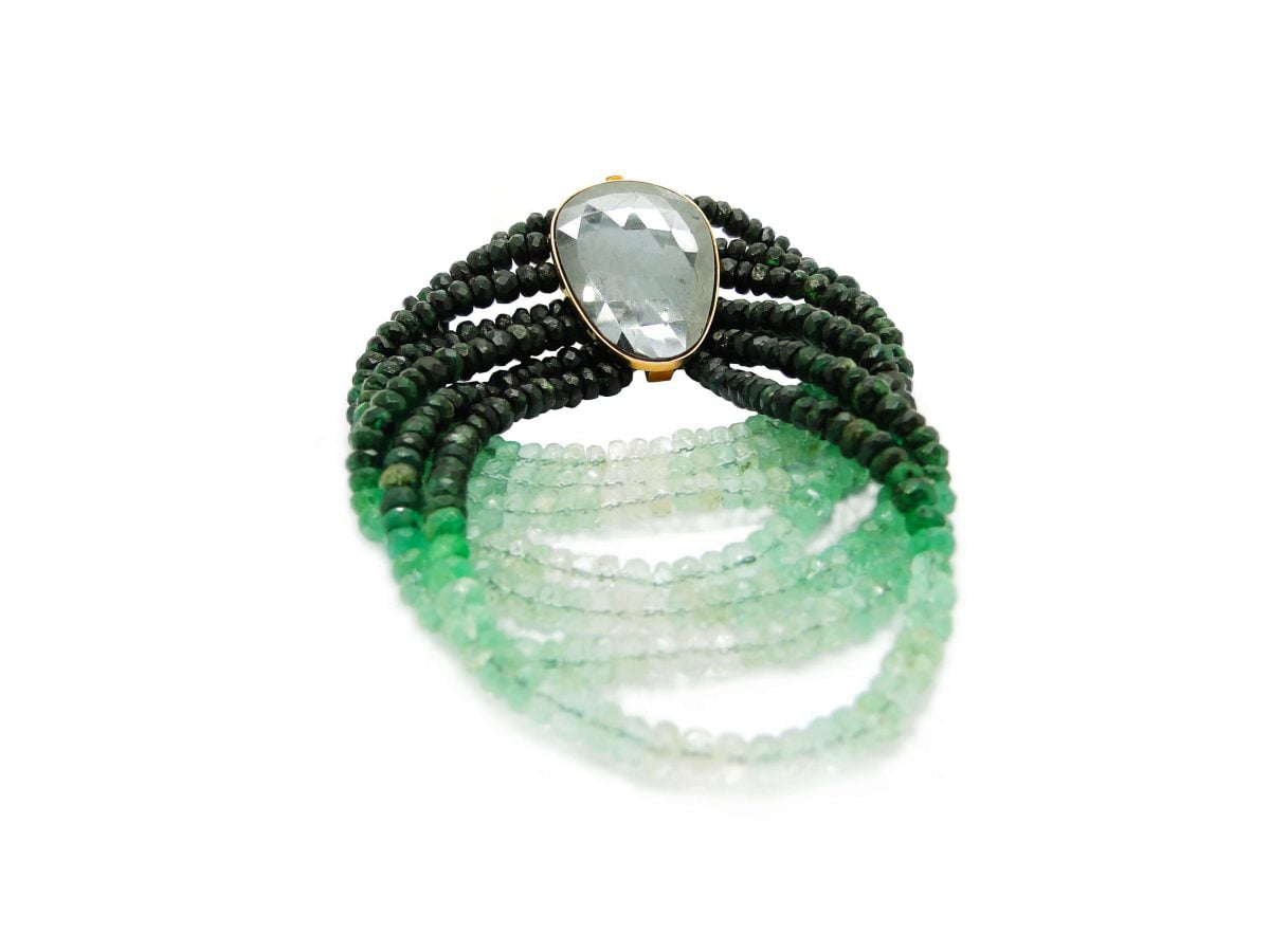 Our Experts Recaps Julls 2016 Jewelry Pri Wolff Feres Bracelet Green Stones