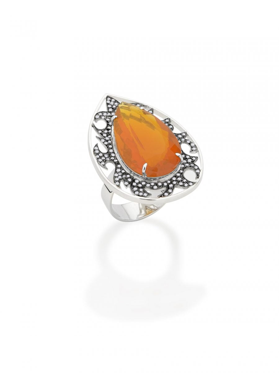 Our Experts Recaps Julls 2016 Jewelry Roberta do Rio Fire Flame Ring