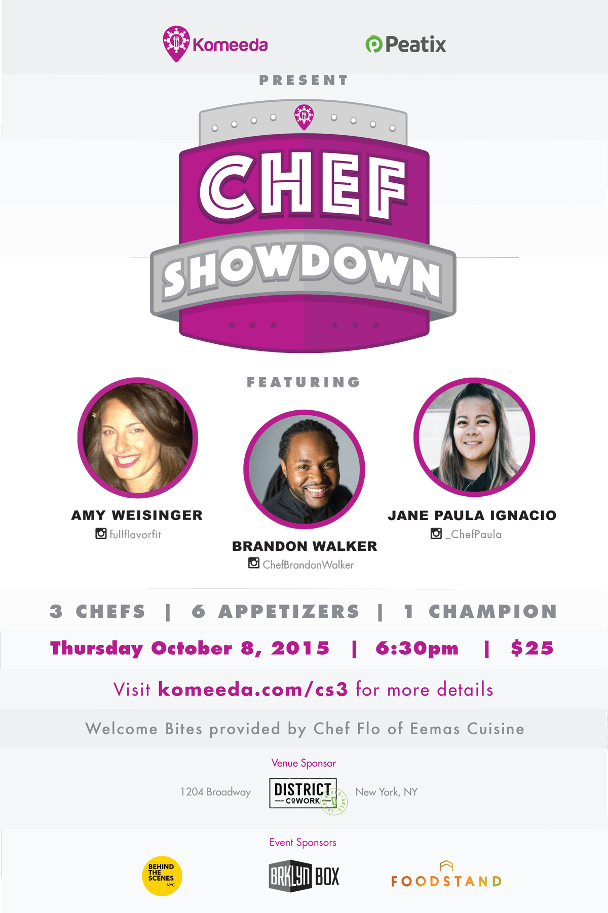 Our Experts Recaps Komeeda Chefs Showdown 2015 Flyer