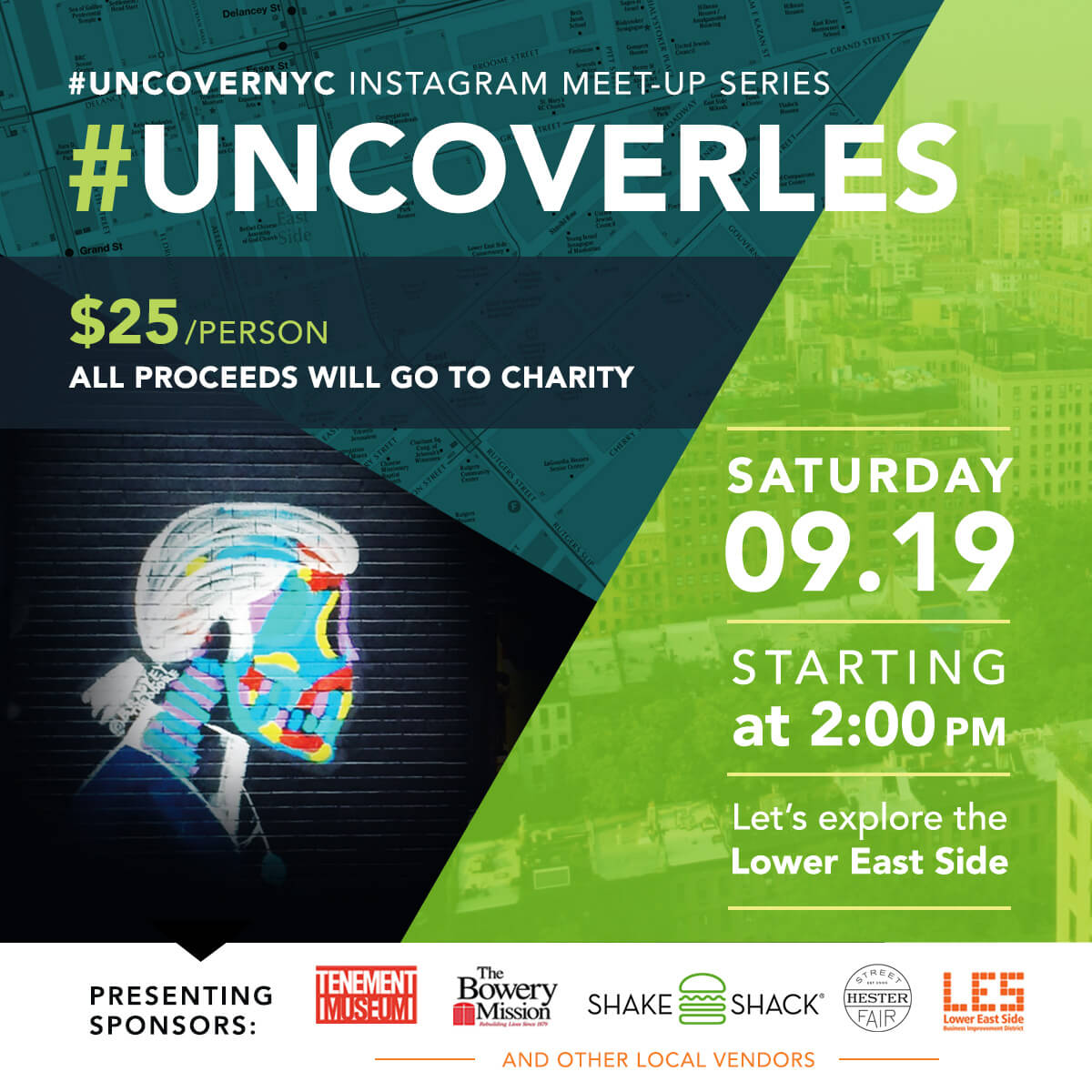 Our Experts Recaps Uncover LES Tour Flyer