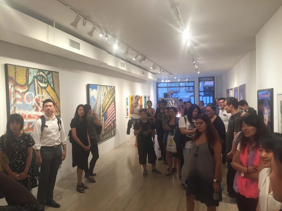 Our Experts Recaps Uncover LES Tour Talk Art Gallery