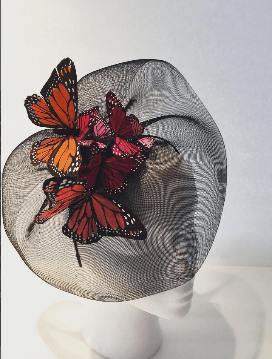 Shop Ladies Dora Marra Jazz Age Lawn Party Butterfly Hat
