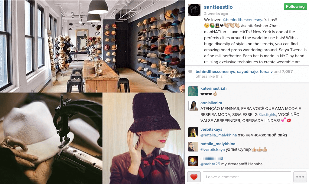 About BTSNYC What The Press Says About BTSNYC Sante Estilo Hat