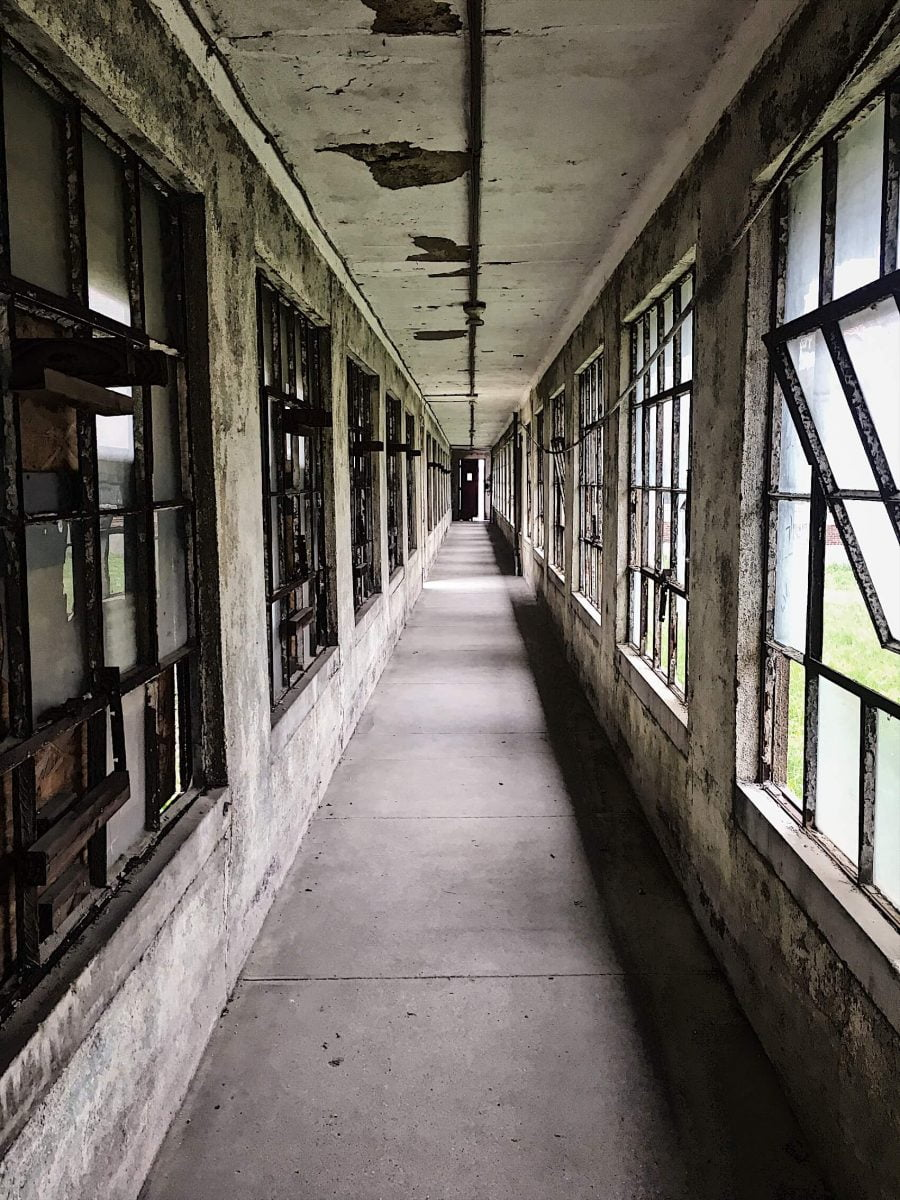 BTSNYC Experiences On Going Abandoned Ellis Island Hospital Tour Hall