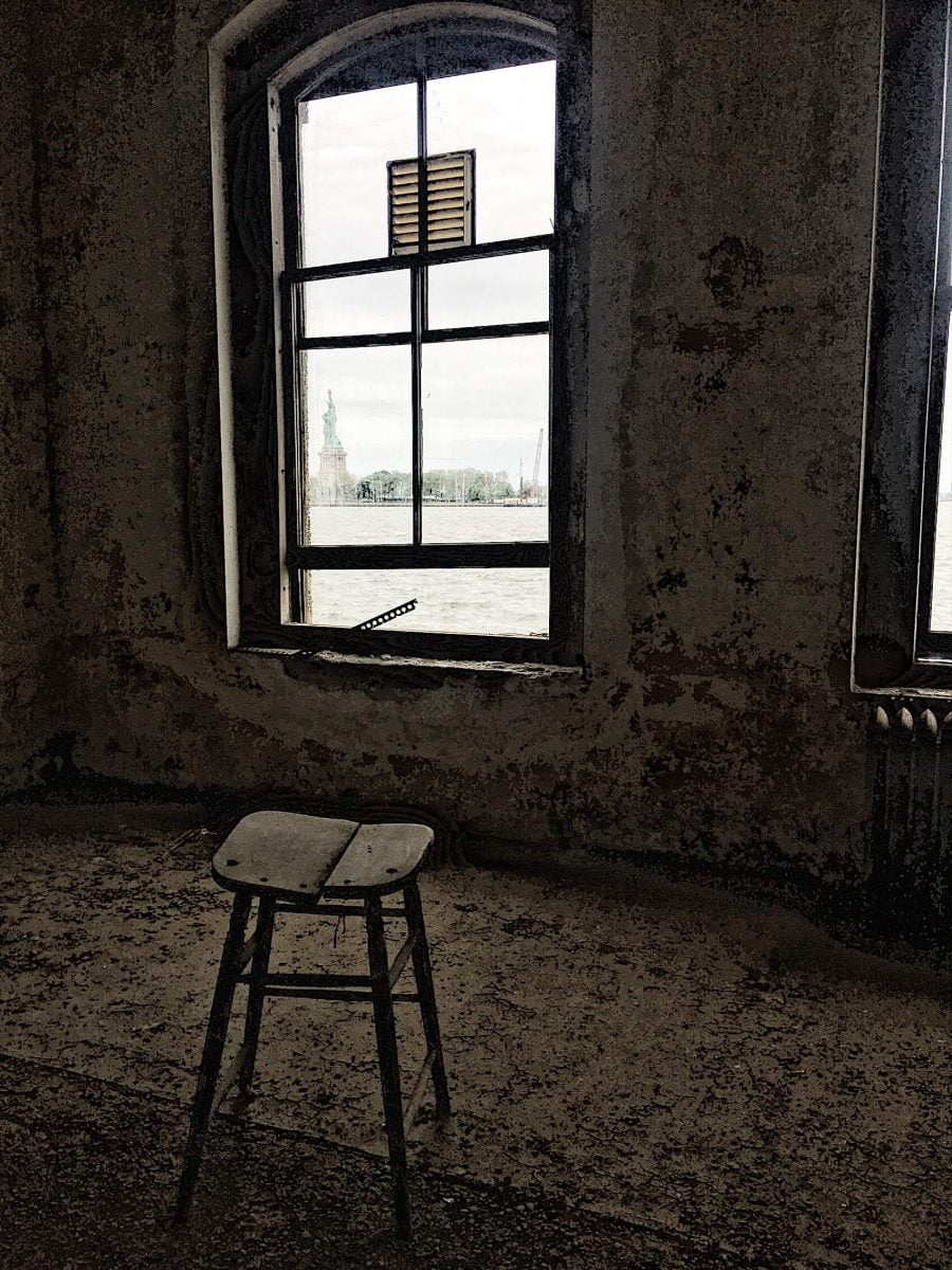BTSNYC Experiences On Going Abandoned Ellis Island Hospital Tour Room