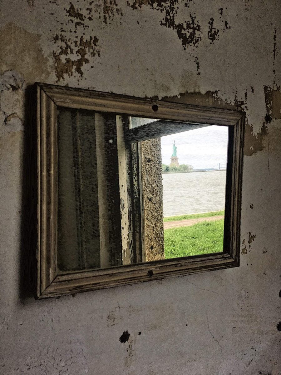 BTSNYC Experiences On Going Abandoned Ellis Island Hospital Tour Statue of Liberty