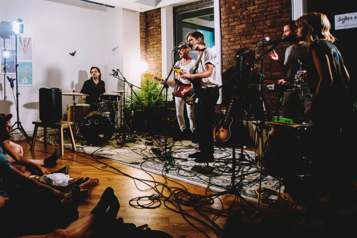 BTSNYC Experiences Up Coming Sofar Sounds NYC Music Bricks