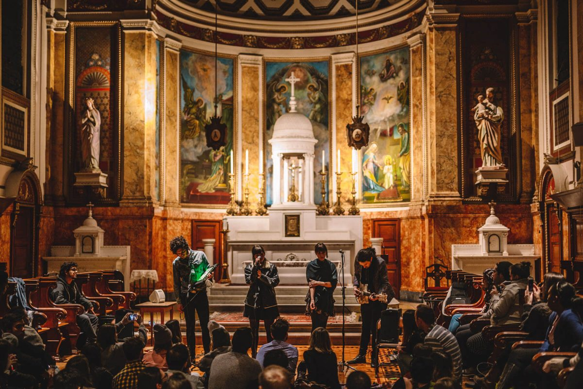BTSNYC Experiences Up Coming Sofar Sounds NYC Music Church