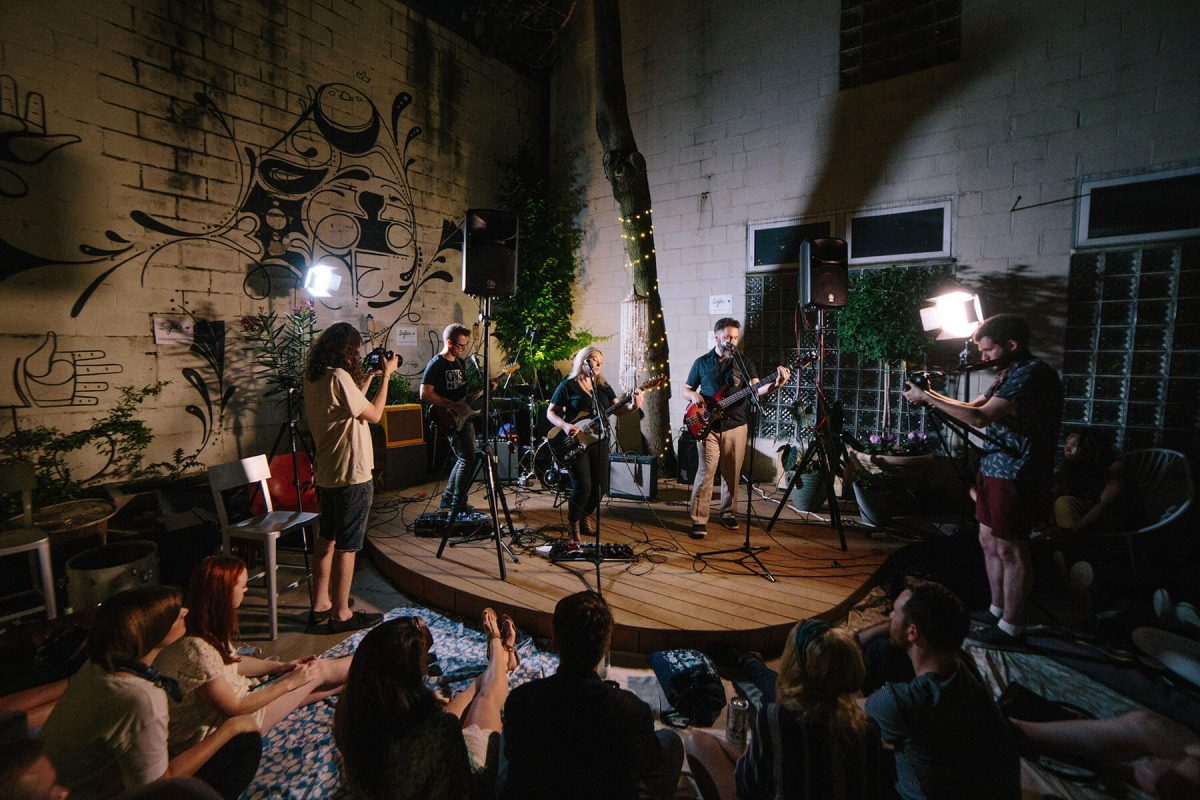 BTSNYC Experiences Up Coming Sofar Sounds NYC Music Garden