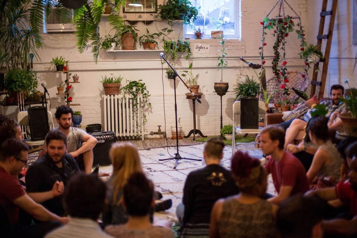 BTSNYC Experiences Up Coming Sofar Sounds NYC Music Plants