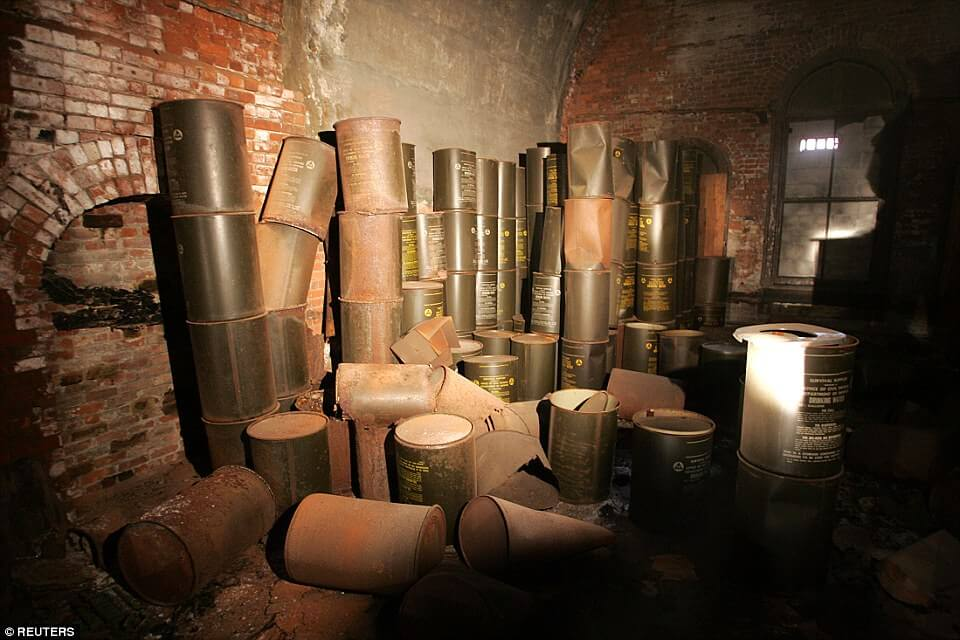 Curiosities City Secrets 10 Top Secrets in New York City Brooklyn Bridge Hidden Bomb Shelter by Reuters