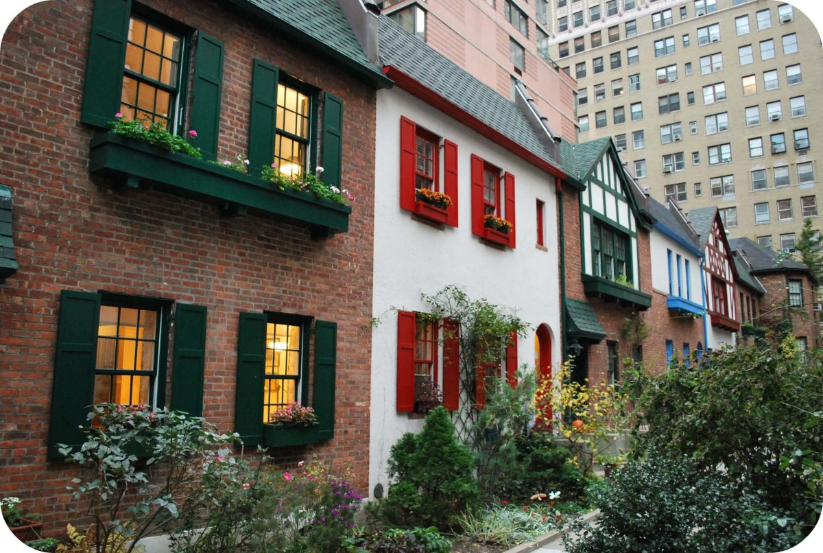 Curiosities City Secrets 10 Top Secrets in New York City City Pomander Walk by Sonja Stark