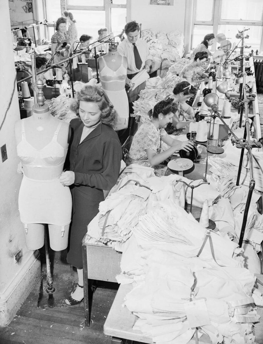 Curiosities City Secrets Garment District Bettmann Corbis Workday