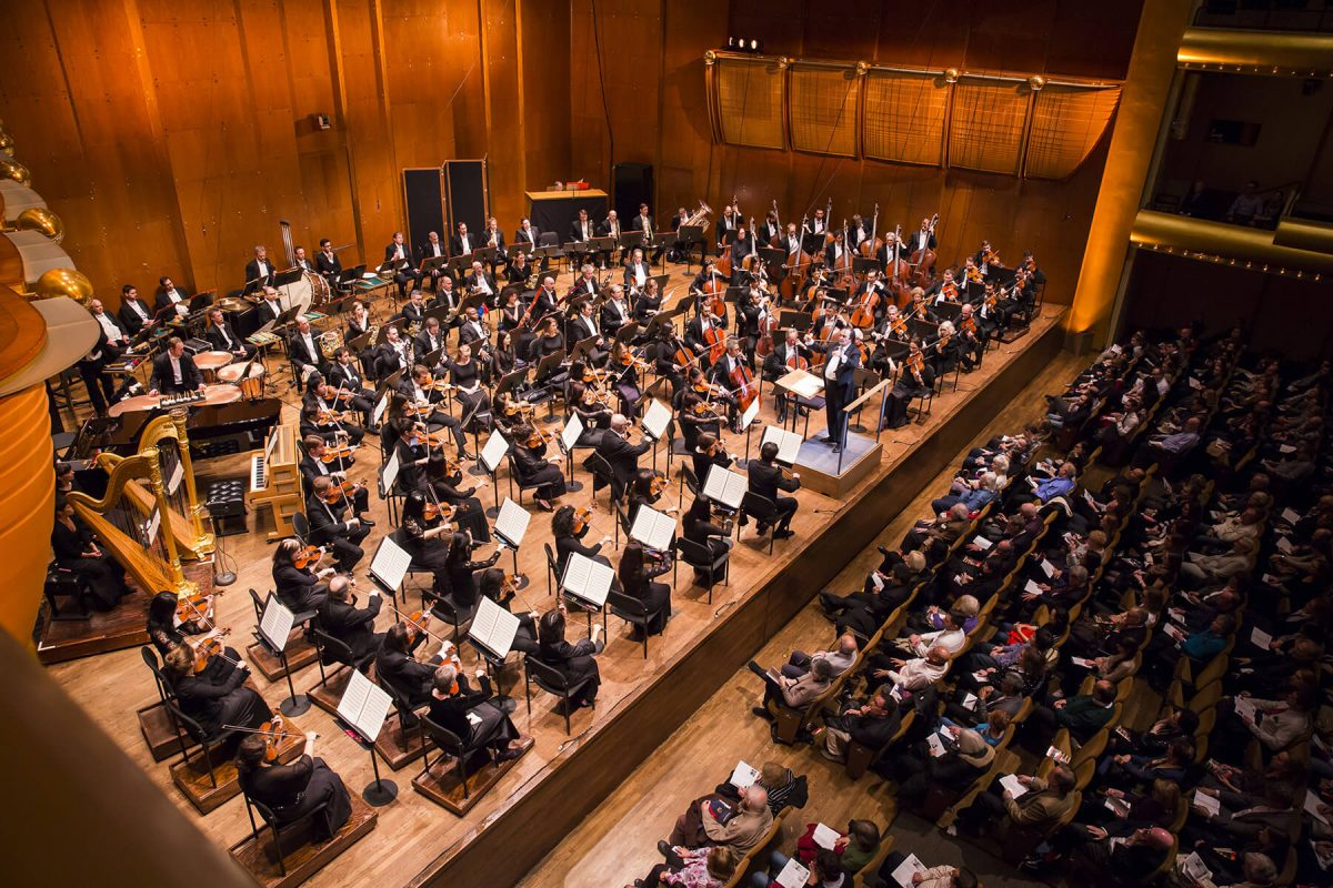 ny philharmonic: renowned cultural landmarks in new york - behind