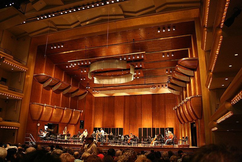 Curiosities City Secrets NY Philharmonic Avery Fisher Hall