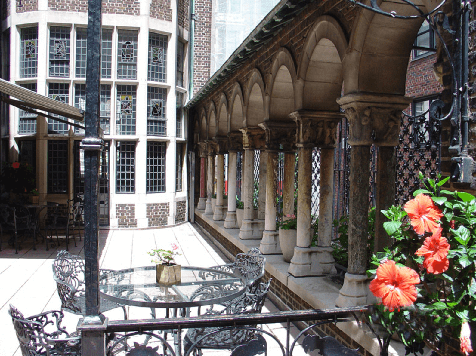 Curiosities Our Bucket Lists 5 Offbeat Museums NYC Explorers Club Patio